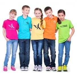 T-shirt bambino colorate