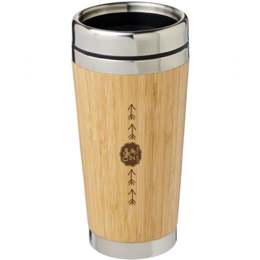 Bicchiere termico BAMBUS - 450 ml - 1