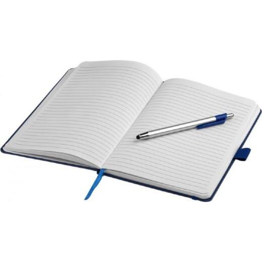 Notebook A5 e penna a sfera con pennino CROWN - 4