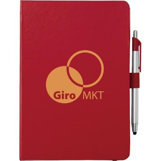 Notebook A5 e penna a sfera con pennino CROWN - 5