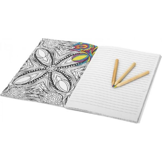 Notebook da colorare DOODLE - 3
