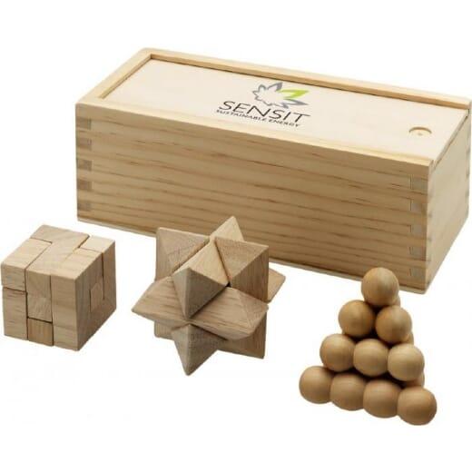 Rompicapo in legno BRAINIAC - 1
