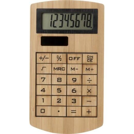 Calcolatrice in bambù EUGENE - 2