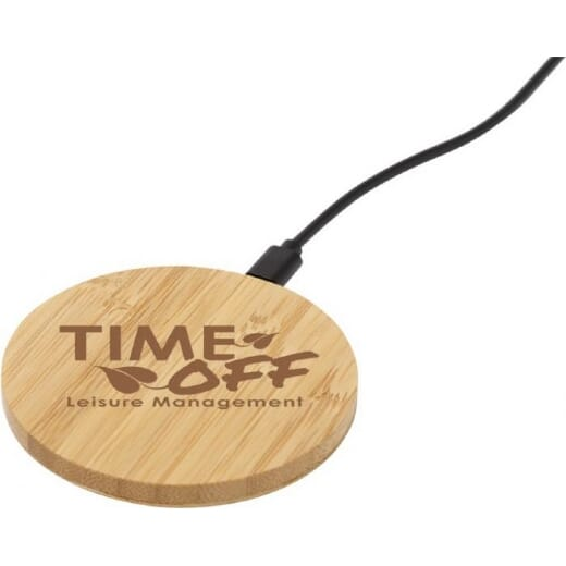 Caricatore wireless in bambù ESSENCE - 2