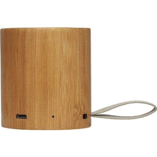 Speaker Bluetooth® in bambù LAKO - 3