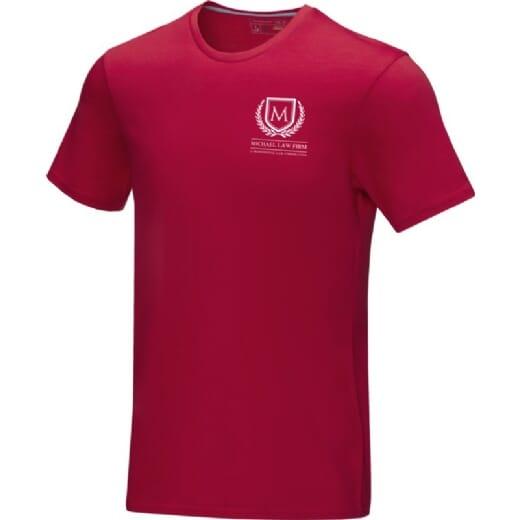 T-shirt da uomo in tessuto organico AZURITE - 2