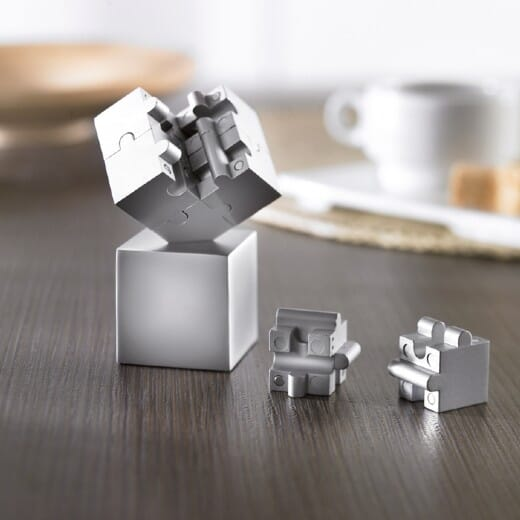Puzzle magnetico 3D 8 pezzi KUBZLE - 1