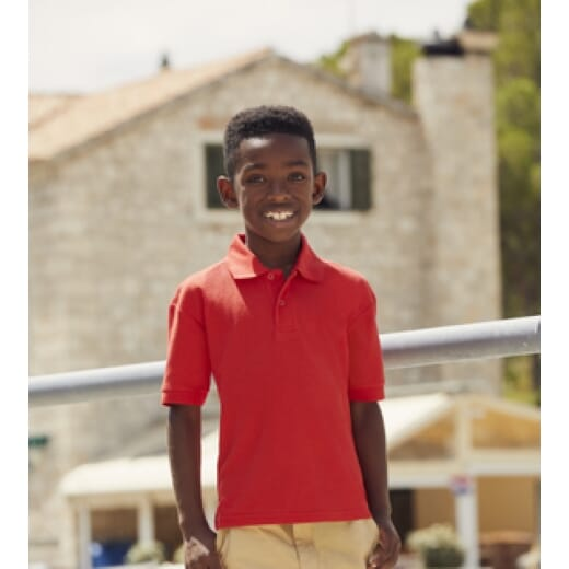 Polo da bambino Fruit of The Loom KIDS - 2