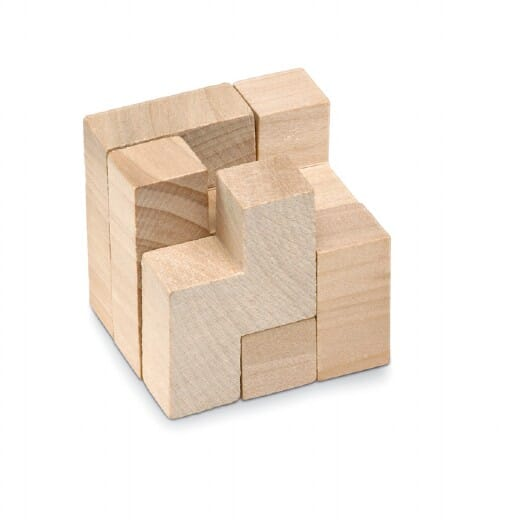 Puzzle in legno in astuccio  TRIKESNATS - 1