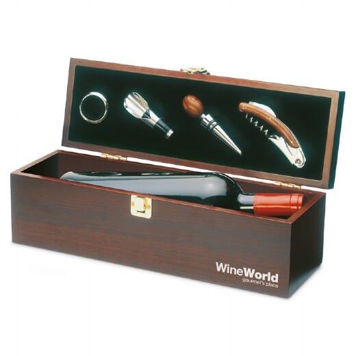 Set vino in legno  COSTIERES - 1