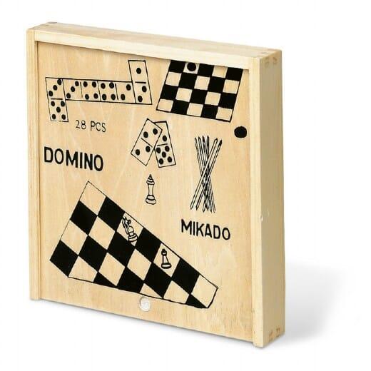 Set giochi 4in1 in legno TRIKES - 1