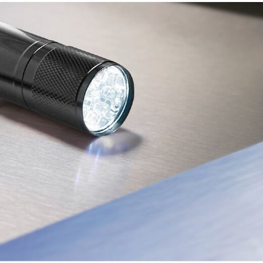 Torcia LED confezione latta  LED PLUS - 2
