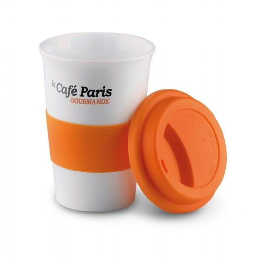 Tazza in ceramica e silicone TRIBECA - 400 ml - 2