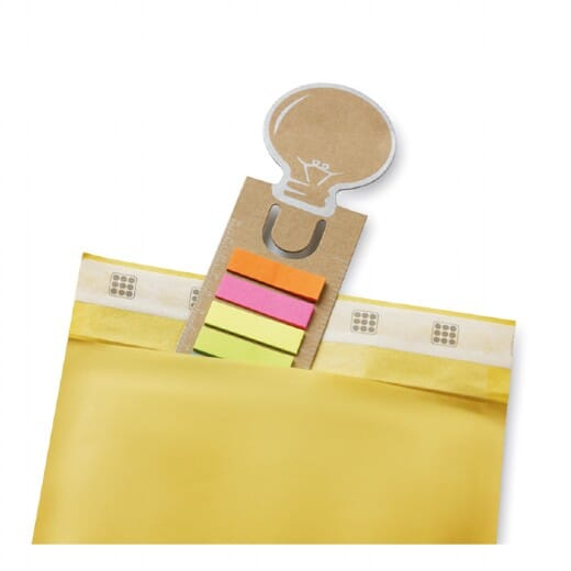 Segnalibro con riga e adesivi  IDEA - 3