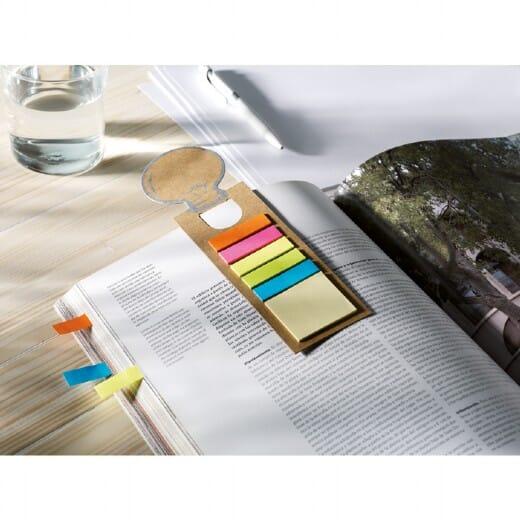 Segnalibro con riga e adesivi  IDEA - 4