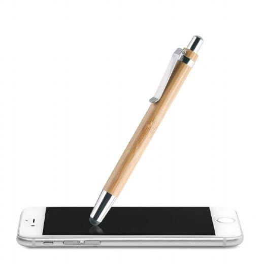 Penna a sfera in ABS e bamboo  BYRON - 2
