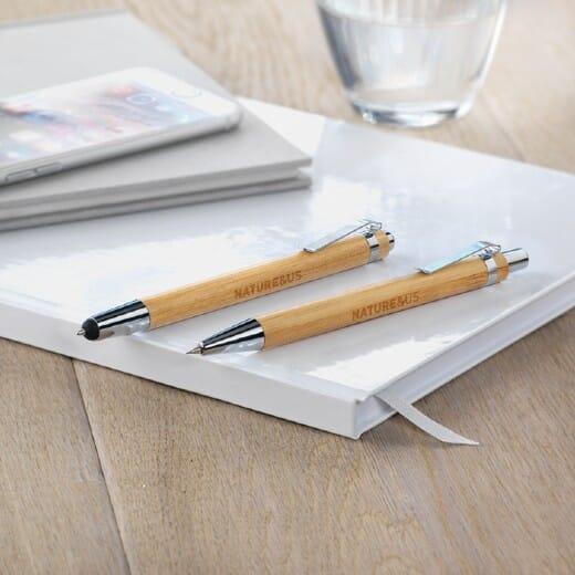 Set penna e matita in bambu  BAMBOOSET - 2