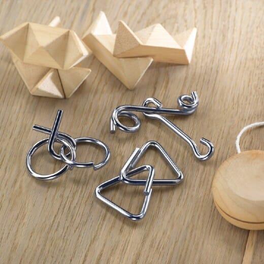 Set rompicapo in metallo THREENATS - 4