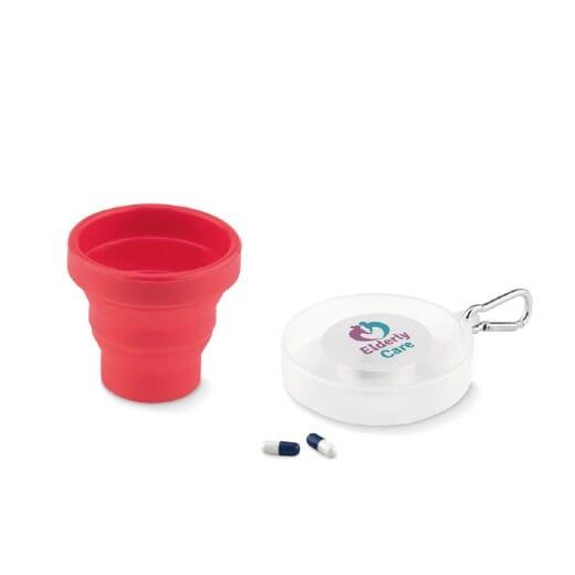 Portapillole con bicchiere CUP PILL - 1