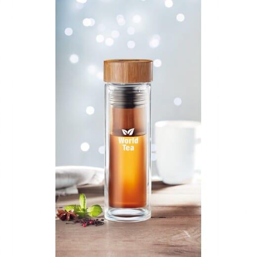 Borraccia BATUMI GLASS - 420 ml - 6