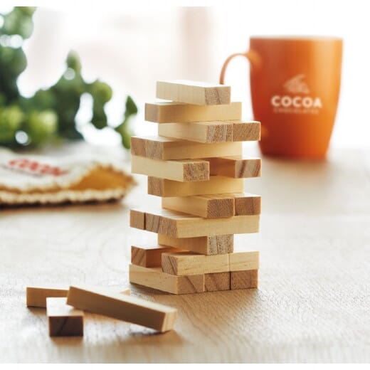 Gioco di abilità in legno PISA - 4