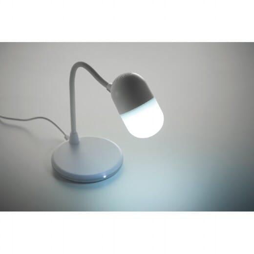 Caricatore wireless con luce e speaker CAPUSLA - 6