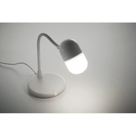 Caricatore wireless con luce e speaker CAPUSLA - 7