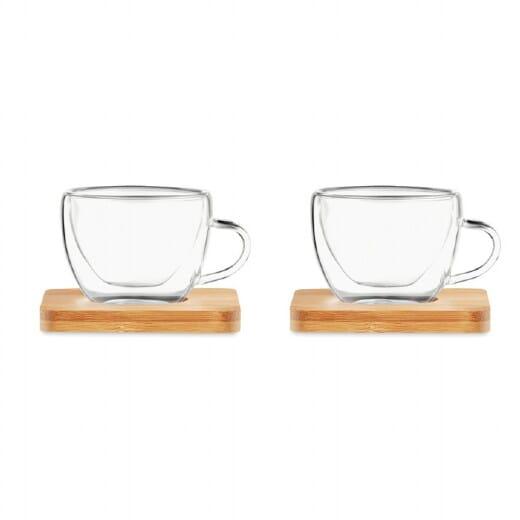 Set tazzine da caffè BELIZE - 90 ml - 2