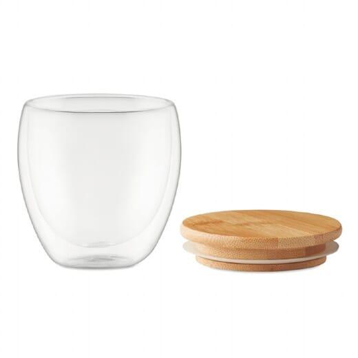 Bicchiere in vetro TIRANA SMALL - 250 ml - 2
