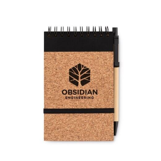 Notebook A6 in carta riciclata SONORACORK - 2