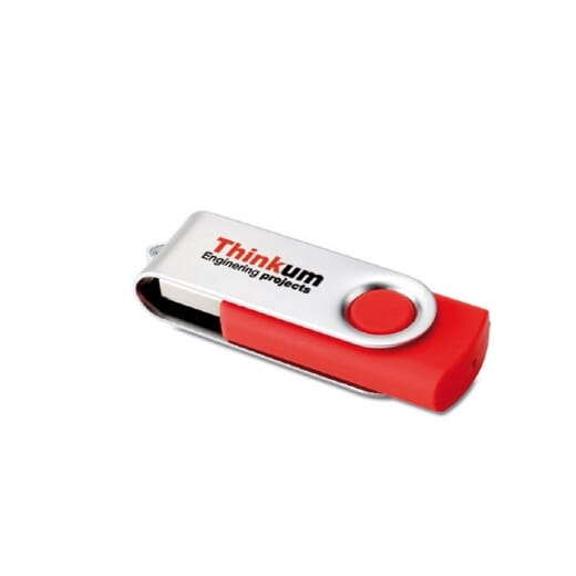 Chiavette USB Personalizzate TWISTER - 2