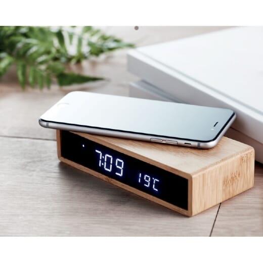 Caricatore wireless con sveglia MORO - 1