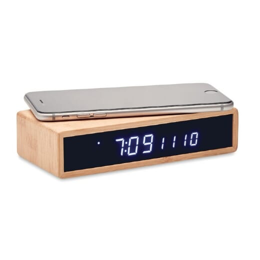 Caricatore wireless con sveglia MORO - 2