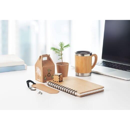 Notebook in legno di pino GROWNOTEBOOK - 1
