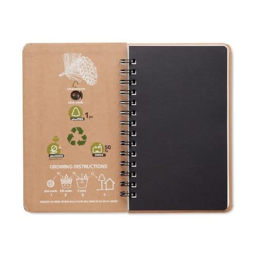 Notebook in legno di pino GROWNOTEBOOK - 2
