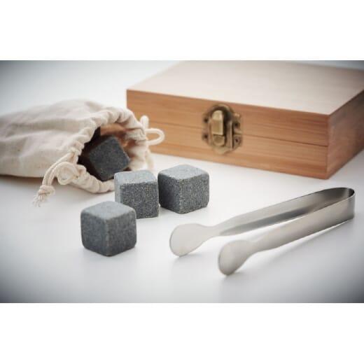 Set cubetti di ghiaccio in pietra DUNDALK - 1
