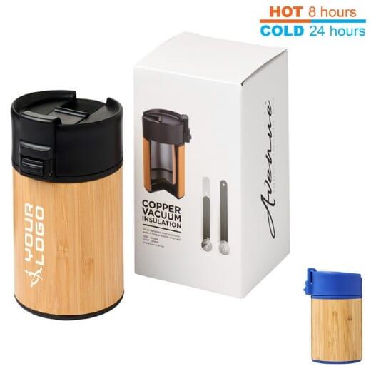 Bicchiere termico in bambù ARCA - 200 ml