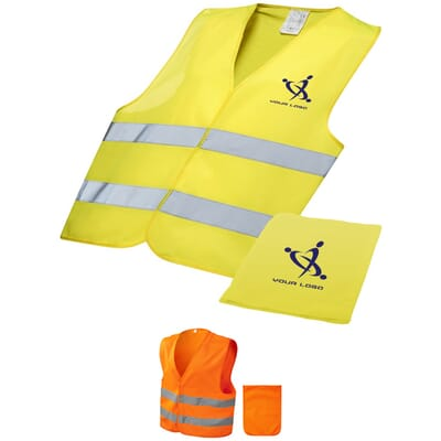 Gilet alta visibilità con custodia WATCH-OUT