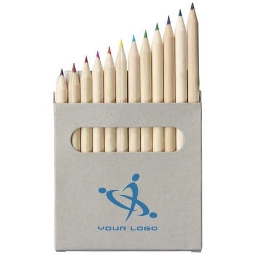 Set 12 matite colorate TALLIN