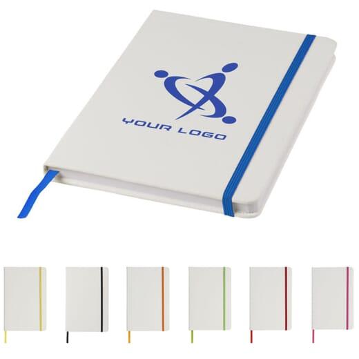 Notebook A5 con elastico colorato SPECTRUM
