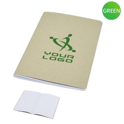 Quaderno in cartone riciclato GIANNA