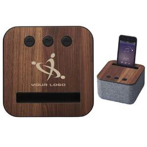 Speaker Bluetooth© in tessuto e legno SHAE