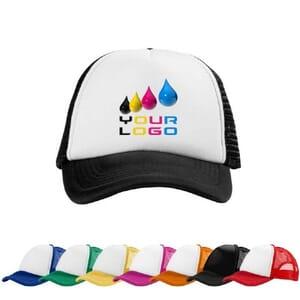Cappellino 5 pannelli Trucker Multicolor