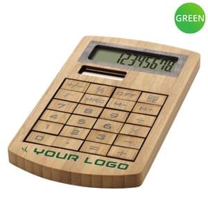 Calcolatrice in bambù EUGENE