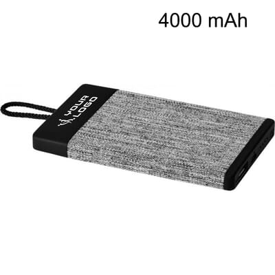 Power bank in tessuto da 4000 mAh WEAVE