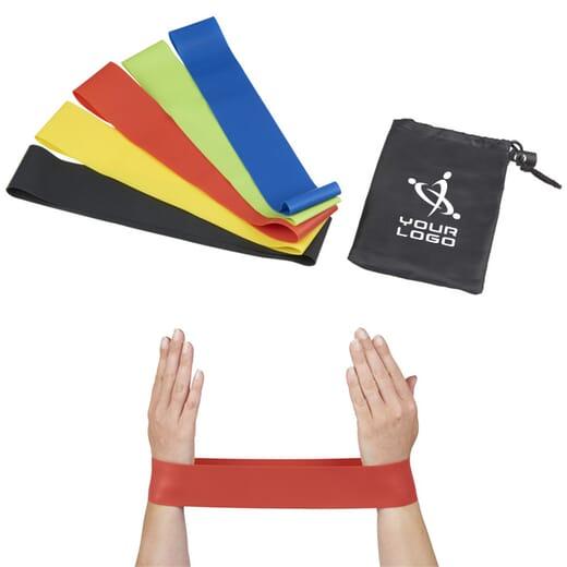 Set fasce elastiche per fitness CRANE