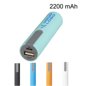 Power bank gommato 2200 mAh JINN