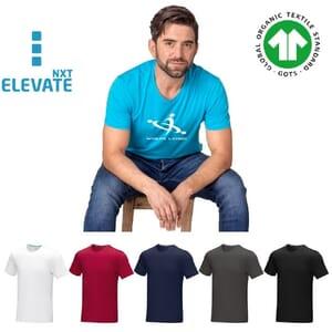 T-shirt da uomo in tessuto organico AZURITE