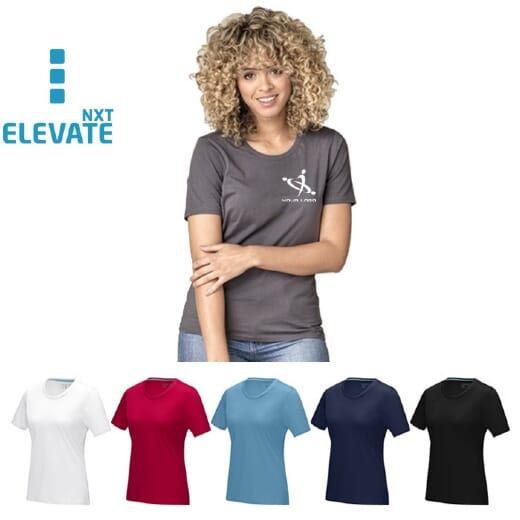T-shirt da donna in tessuto organico AZURITE