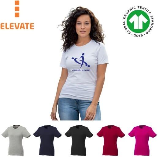 T-shirt Balfour in tessuto biologico a manica corta da donna